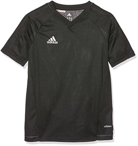adidas Jungen Tiro 17 Training Trikot, Black/Dark Grey/White, 164 -
