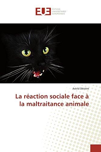 La réaction sociale face à la maltraitance animale