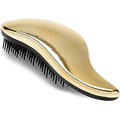 EL MEJOR cepillo desenredante. Cepillo desenredante para cabello mojado, seco, fino, grueso, o para niños. Para todo tipo de cabello. ¡No más enredos! ¡100% Garantía de 'Felicidad' de por vida!