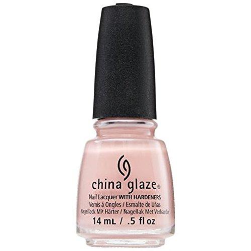 China Glaze Nail Lack mit hardeners, 14ml, Don 't Make Me Blush