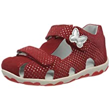 Superfit Baby Girls' Fanni Sandals, Red (Rot 50), 5.5 UK