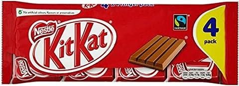 Fairtrade Nestle Kit Kat 4 Finger Bars (4X45G)