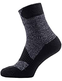 SealSkinz 100% Waterproof Sock - Windproof & Breathable - Ankle length sock, suitable for walking, camping, hiking in All Weather conditions