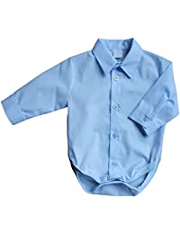 BABY HEMDBODY, GR. 56, festliches Hemd als Body, Farbe