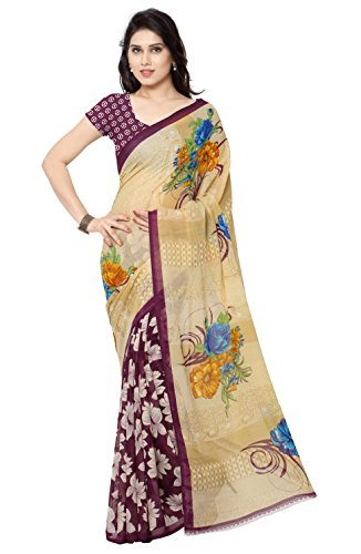 Anand Sarees Georgette Saree with Blouse Piece (2942_2_multicolour_Free size)