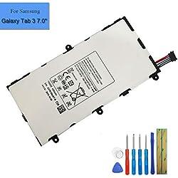 Batterie de Remplacement T4000E Compatible avec Samsung Galaxy Tab 7.0 7.0 4G LTE SM-T210 SM-T210R Galaxy Tab 3 7.0 SM-T285M