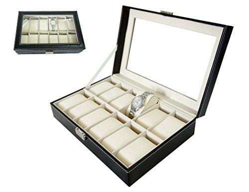 Cofre-para-reloj-Caja-para-reloj-Expositora-para-12-relojes