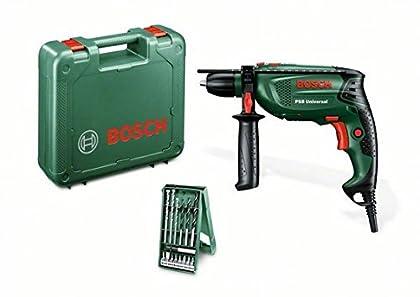 Bosch - Taladro 650W.+Mal.+Regal.Psb650Recr
