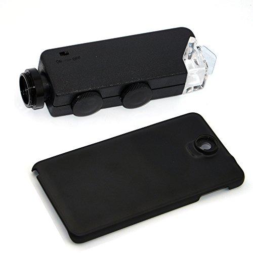 Apexel Mikroskop-Aufsatz für Handys, 50cm Brennweite, Aluminium Für Samsung Galaxy Note 3 N9000...