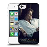 Head Case Designs Offizielle Outlander Jamie Weisses Shirt Darsteller Soft Gel Hülle für iPhone 4 / iPhone 4S