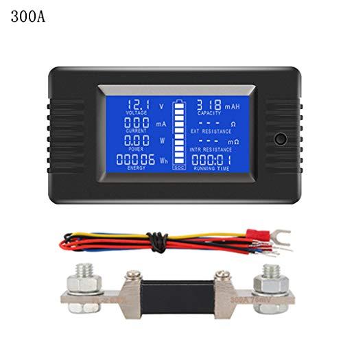 Guangtian DC 0-200V 50A / 100A / 200A / 300A Batterietester Monitor Spannung Strom Impedanz Kapazität Watt Ampere Leistung Energie Zeitmesser