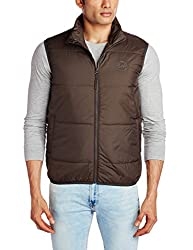 Lee Mens Synthetic Jacket (8907222307608_LEJK1200_XX-Large_Olive)