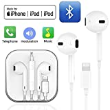 SZHTFX Earphones/Earbuds Wired Headphones Noise Isolating Earphones with Built-in Microphone & Volume Control Compatible with iPhone 8/8 Plus/7/7Plus/X/XS/XR