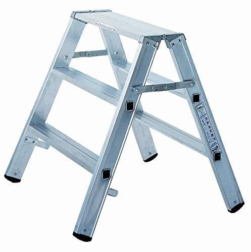 ILLER-LEITER Geis&Knoblauch Alu-Montagebock 70202 2x2 Stufen Sprossenleiter 4039665012970 -