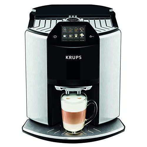 41Vob3FeUlL. SS500  - Krups EA907D40 Automatic Espresso Bean to Cup Coffee Machine, Silver, Barista