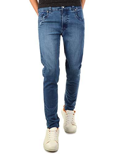 BEZLIT Coole Jeans Hose Jungen Kinder Baumwolle Röhre-Jeans Stretch-Jeans 22861 Blau 158
