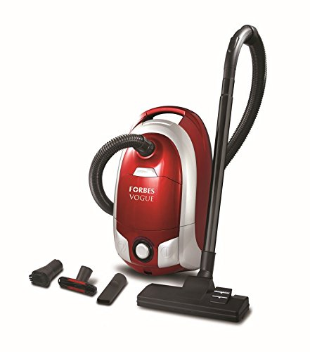 Eureka Forbes Vogue 1400-Watt Powerful Suction and Blower function Vacuum Cleaner (Red and Silver)