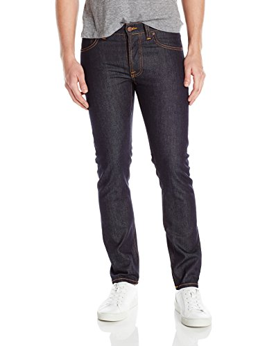 nudie-jeans-uomo-blu-dry-pure-navy