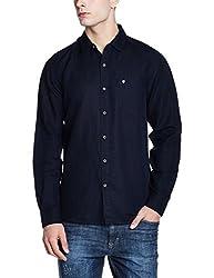 Wrangler Mens Casual Shirt (8907649199312_W2656310421R_M_Black)