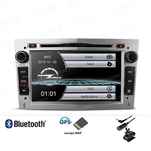 """Xtrons PF71OLOS-B - Radio de Coche para Opel Corsa Astra Antara Zafira Vectra y Vivaro (7\"""", 2 DIN, DVD, USB)"""