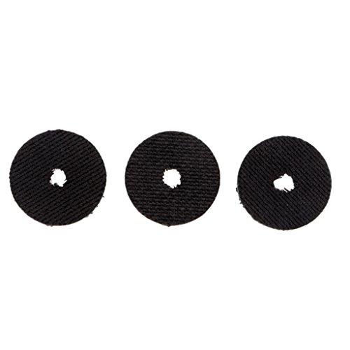 CUTICATE 3pcs Smooth Drag Carbon Drag Unterlegscheiben Set 19mm 23mm Für Angelrollen - M