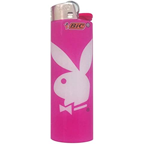 BIC BIG PLAYBOY BUNNY LIGHTER CUTE PINK by BIC BIG - Playboy Pink Bunny