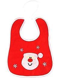 Lätzchen im Weihnachts-Design, bestickt, Geschenkidee