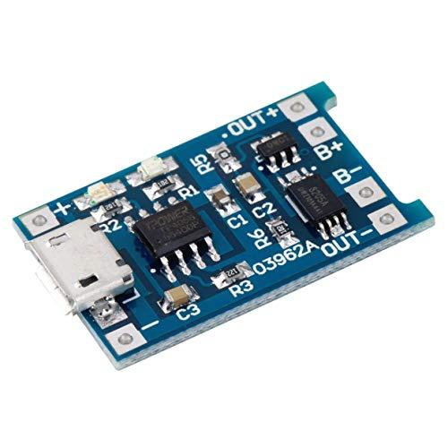 MXECO 5V Micro USB 1A 18650 Módulo cargador placa