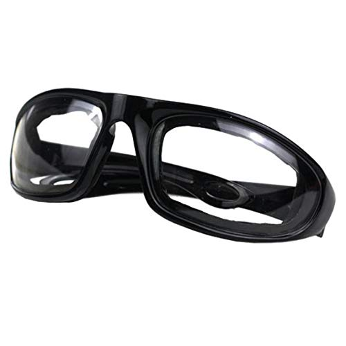 ForceSthrength Kitchen Protective Cut Onion Special Glasses Anti-Glare Sponge Onion Glasses