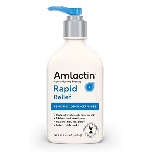 Arme Body (AmLactin Alpha-Hydroxy Therapy Cerapeutic Restoring Body Lotion for Arms Legs Best Dermatologist Moisturizer for Dry Skin, 7.9 Ounce by AmLactin)