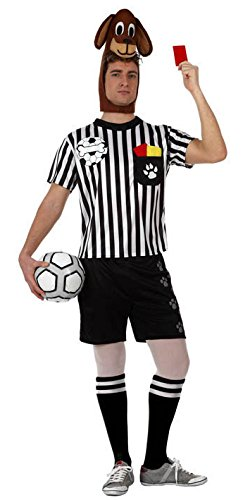 Schiedsrichter Kostüm (Atosa–10527–Kostüm–Home Hund Schiedsrichter–Größe)