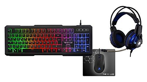 The G-Lab combo-xenon/FR auriculares para PC Gaming