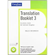 TRANSLATION BOOKLET 3: Intermedio Bajo