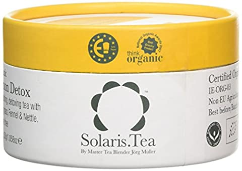 Solaris.Tea Organic Lemon Detox Teabags (Pack of 15)