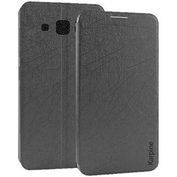 Karpine Flip Cover For Samsung Galaxy On7 Pro - Black