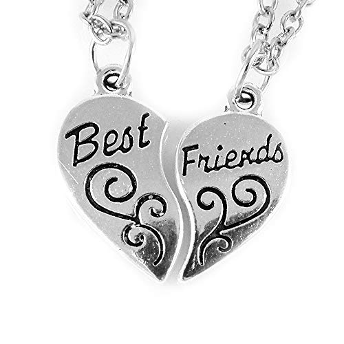 434123e470cd AKIEE Colgante Collar Best Friends Forever BFF Mejores