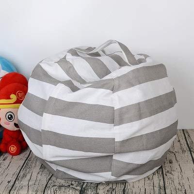 crayfomo Kids Storage Bean Bag Chair - Sitzsack für Stofftiere - Sitzsack Kids Chair - Canvas...