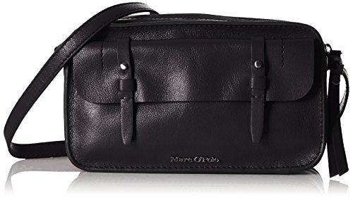 Marc O'PoloCROSSBODY BAG M - Borsa a tracolla Donna , Nero (Nero (black 990)), 24x14x8 cm (B x H x T)
