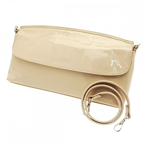 Kennel Und Schmenger Clutch With Strap Nude Patent
