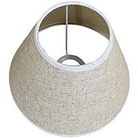 E27 Clip in lino per paralume in tessuto su paralume per lampada da parete Lampada da tavolo Lampadario a candela