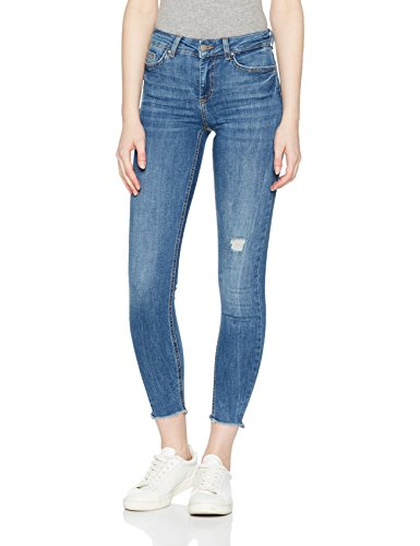 Pieces, Jean Skinny Femme Bleu (Medium Blue Denim Medium Blue Denim)