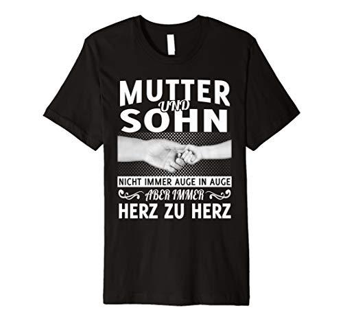 Mutter und sohn nicht immer auge in auge t-shirt