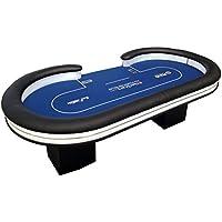 Newpokertable mesa de poker 246x124 cm ,replica final EPT ,led y 2 cajas de recaudación tableof poker