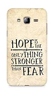 AMEZ hope is the only thing stronger than fear Back Cover For Samsung Galaxy J3 (2016 EDITION)