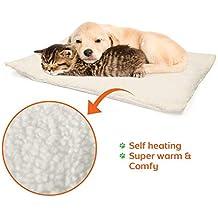 OneBarleycorn – Alfombrilla de Auto calefacción para Mascotas, Gatos, Perros y Gatitos para Viajes