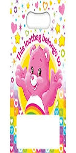 (Inbetweenies Care Bears Party/Loot Bags Pack of 12)
