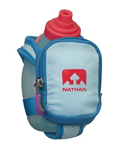 Nathan Unisex Quickshot Plus Handhelds Blue Danube/Diva Pink