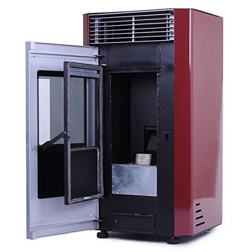 Estufas-de-pellets-de-7-Kw-8-Kw-9-Kw-y-11-Kw-en-diferentes-colores-y-modelos-Modelo-02-2-Rojo-9-Kw