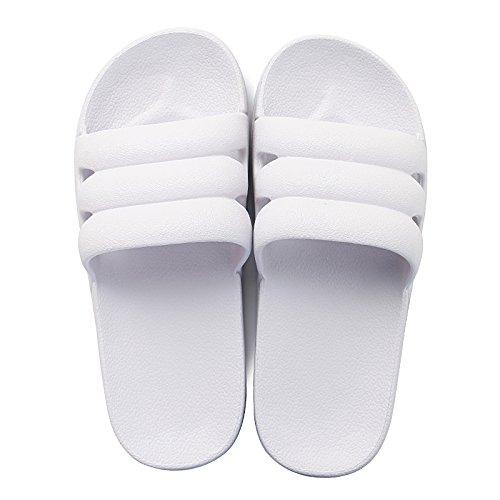 DogHaccd pantofole,Estate giovane home trascinare maschio e femmina luce interna morbida sabbia fresca bagno con pantofole scivolose Viola chiaro