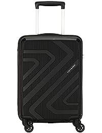 Kamiliant by American Tourister KAM Kiza Polypropylene 55 cms Black Hardsided Cabin Luggage (KAM KIZA SP 55CM - BLACK)